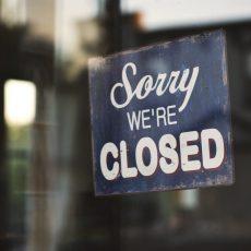 Taxiväg C permanent stängd